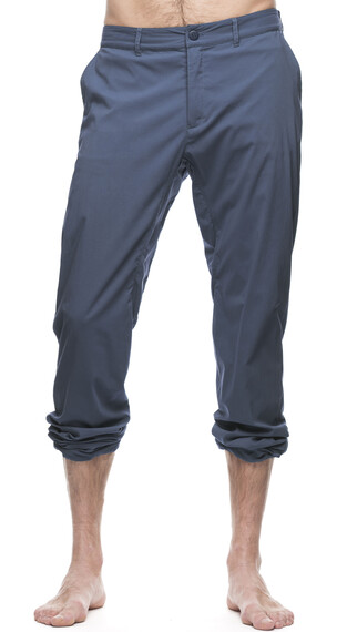 Houdini M's Liquid Rock Pants Rider Blue